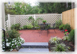 Arlington Cozy backyard