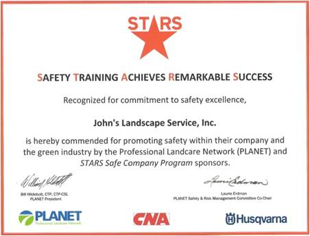 stars safety training