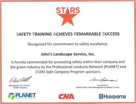 stars safety training